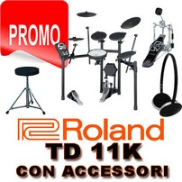 ROLAND TD 11 K CON STAND MDS 4V-PACK