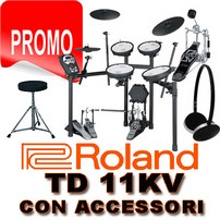 ROLAND TD 11 KV CON STAND MDS 4V-PACK