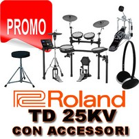 ROLAND TD 25KV CON STAND MDS 4V-PACK
