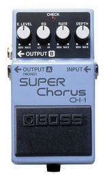BOSS CH-1  PEDALE EFFETTO