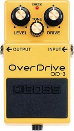 BOSS OD-3  PEDALE EFFETTO