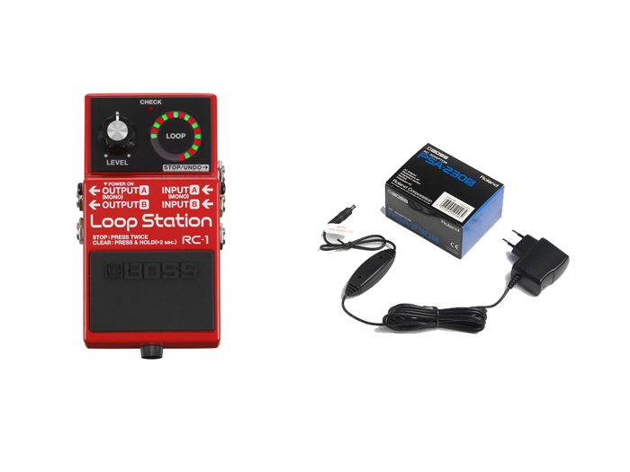 BOSS RC1-LOOP STATION CON ALIMENTATORE
