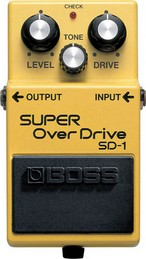 BOSS SD-1  PEDALE EFFETTO