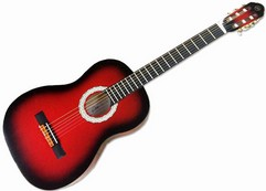 EKO CS 10 - RED BURST- CHITARRA CLASSICA 4/4