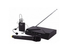 PROEL WM101KIT - SISTEMA MICROFONICO PALMARE / ARCHETTO UHF WIRELESS