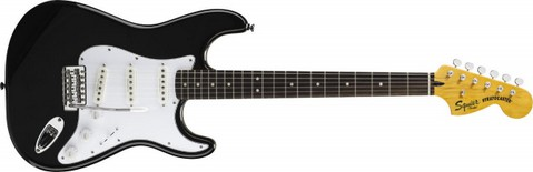FENDER-SQUIER VINTAGE MODIFIED STRATOCASTER 3Tone- BLACK