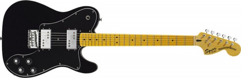 FENDER-SQUIER VINTAGE MODIFIED TELECASTER DELUXE-BLACK