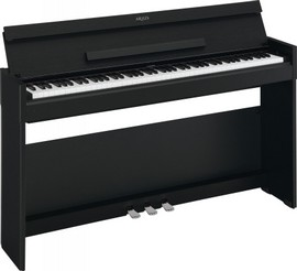 YAMAHA YDP S-52 NERO - PIANOFORTE DIGITALE SLIM