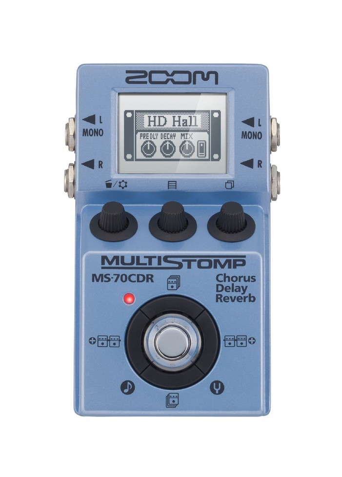 ZOOM MS-70CDR -MULTIEFFETTO PEDALIERA