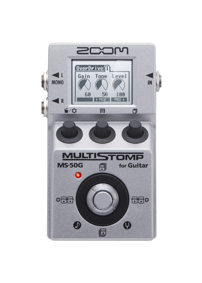 ZOOM MS-50G -MULTIEFFETTO PEDALIERA
